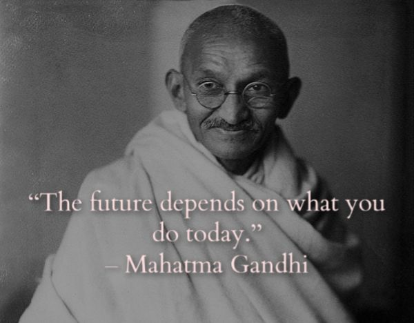33 Inspirational Mahatma Gandhi Quotes of Liberty And Peace