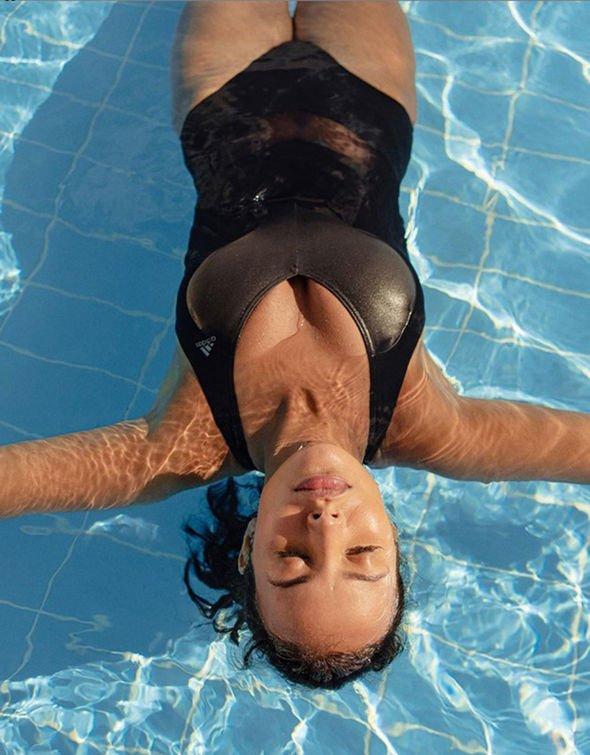 Maya Jama is in hot summer swimsuit