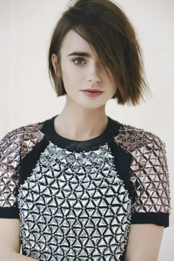 Lily Collins Sexy Looking photos-19
